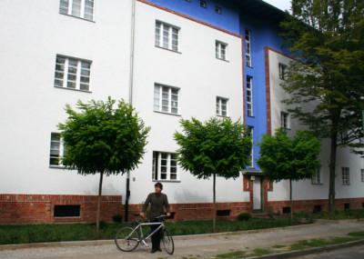 Bloggari við Hufeisensiedlung