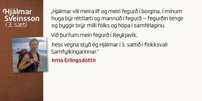 Irma Erlingsdóttir