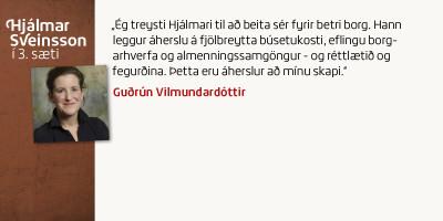 Guðrún Vilmundardóttir