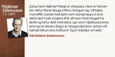 Páll Baldvin Baldvinsson
