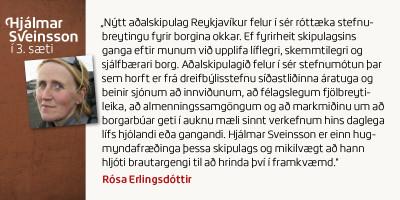 Rósa Erlingsdóttir